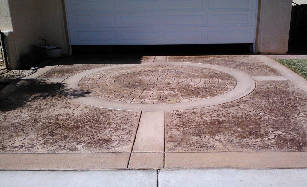 Stamped Driveway Concrete Contractor Lemon Grove, Decorative Concrete Company Lemon Grove Ca