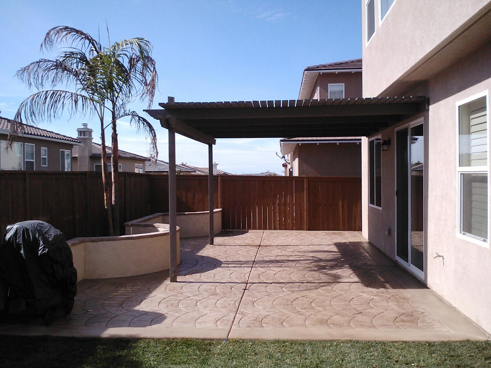 Stamped Patio Concrete Contractor Lemon Grove, Decorative Concrete Patio Contractors